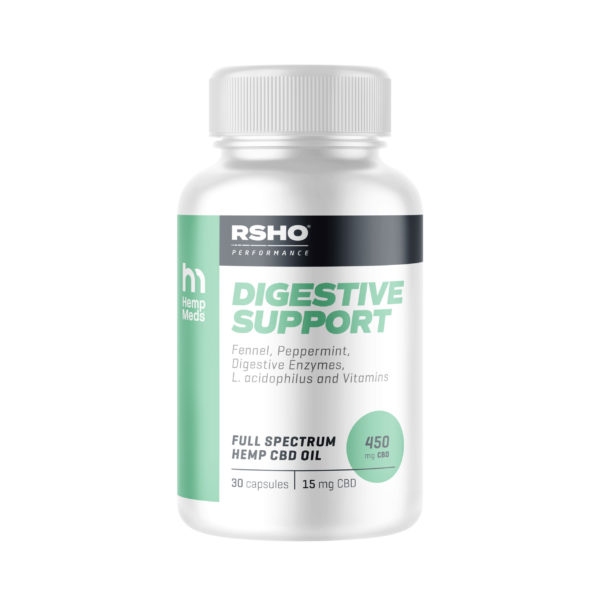 CBD for digestion - Digestive support capsules