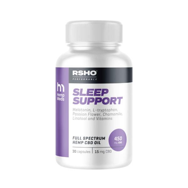 Sleep Support CBD Capsules product image